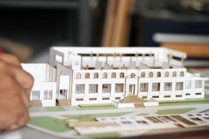 maqueta para arquitectura