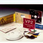 placas para identificar maquinas, motores, tableros electricos, industria y oficina
