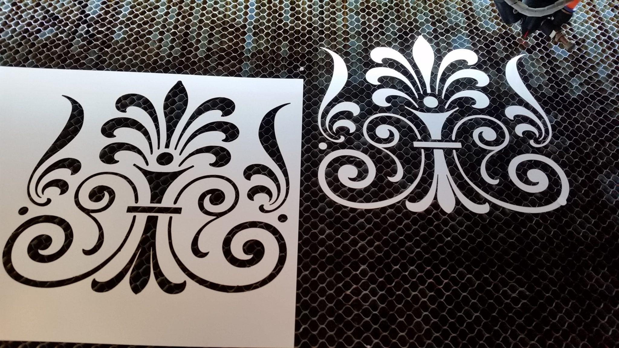 stencil pared