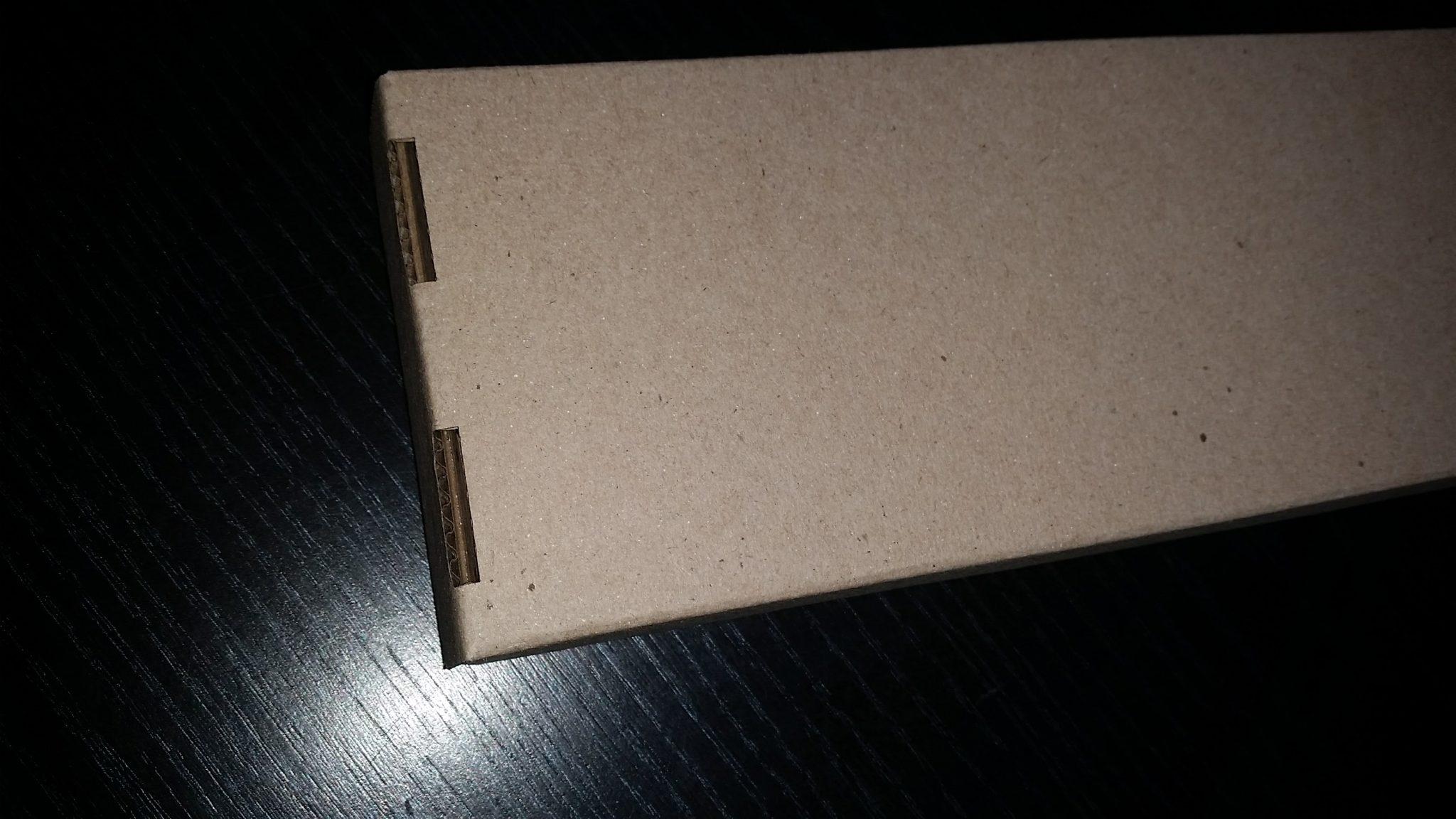 caja en microcorrugado