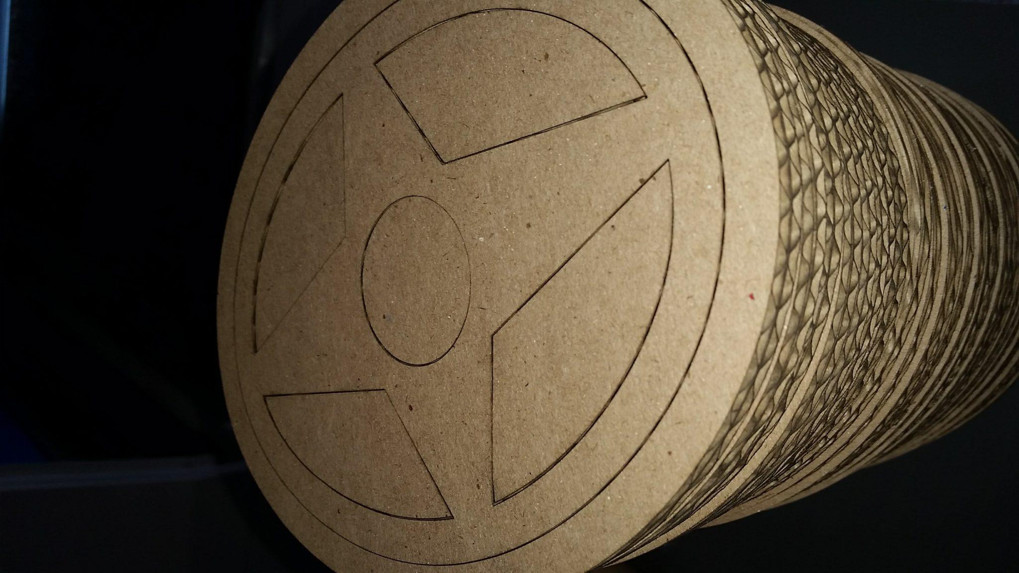 Corte laser en corrugado